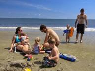 good times on the beach...