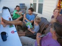 good family time...