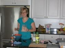 Betty Crocker Fudge Brownie Mix.... Boy, was it good.