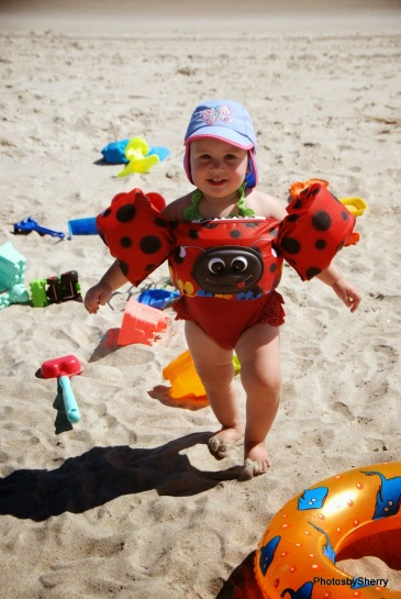 our little ladybug...