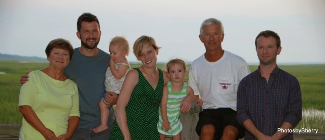 Terrific Crowell Family shot, using the self-timer.
