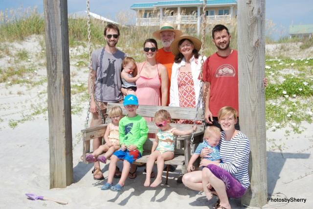 2014 Ritger Family Tybee Island Beach Trip