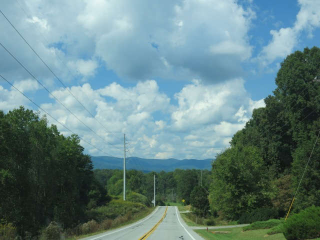 heading to north Georgia... mountains and forests ahead!