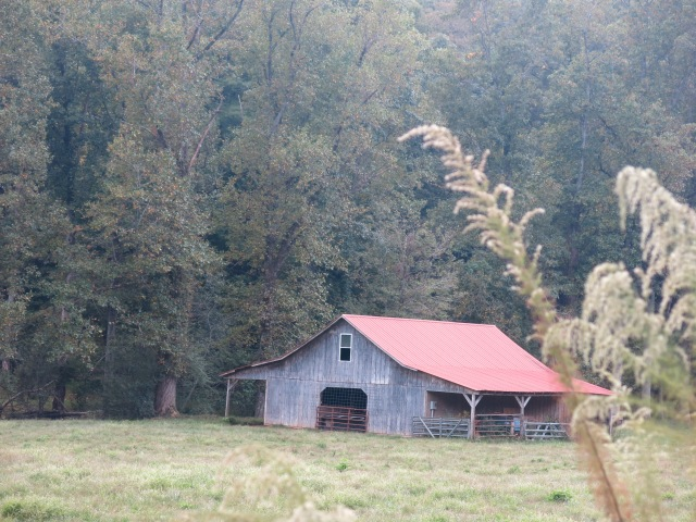 barn on side road