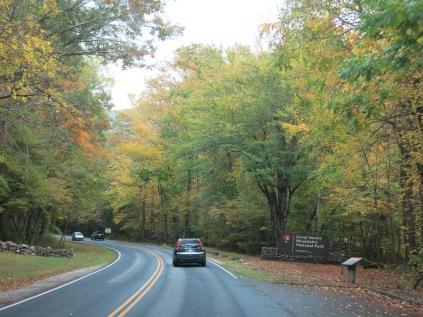 Park Entrance Sign - Newfound Gap Road