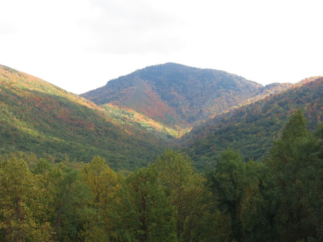 view from Foothills Parkway - Carlos Campbell Overlook