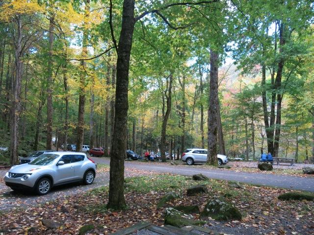 Chimneys Picnic Area - Great Smoky Mountain National Park