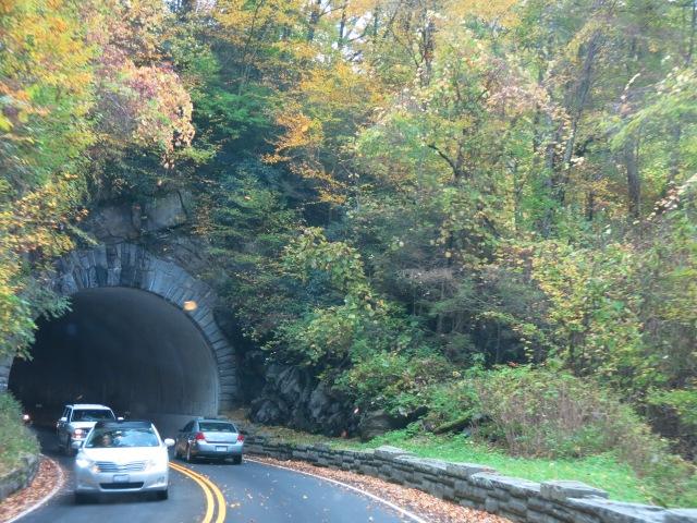 tunnel along Newfound Gap Road