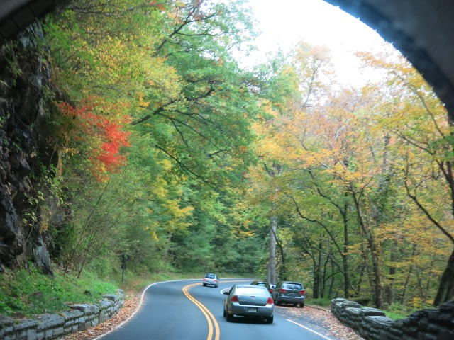 emerging from the tunnel - Newfound Gap Road - Great Smoky Mountain National Park