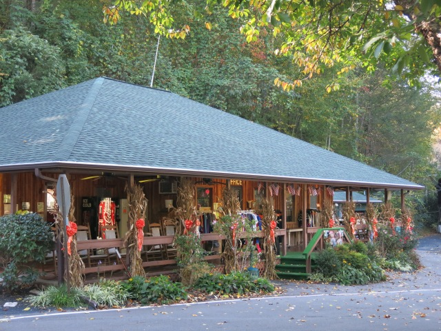 Twin Creek RV Park Office - Gatlinburg, TN