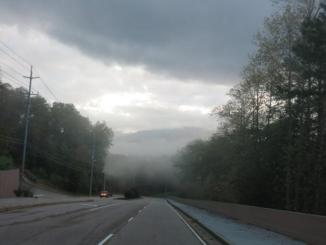 fog ahead...