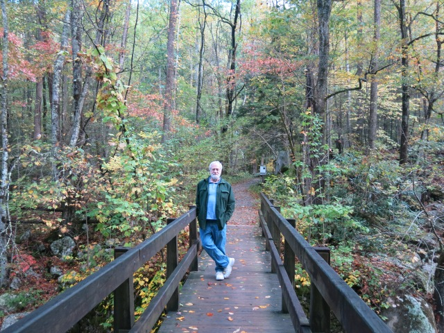 John - bridge over Little Pigeon River