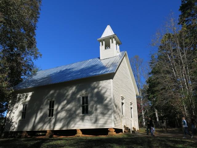 Methodist Church - Built 1902 - Cades Cove