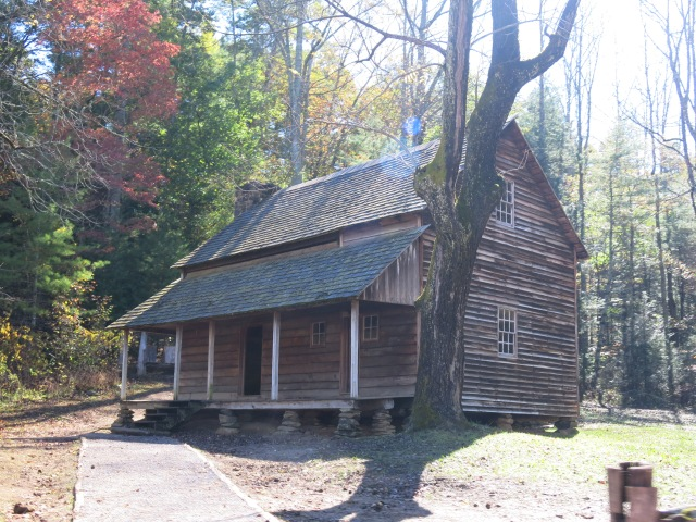 The Tipton House - Cades Cove