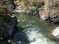 Kayaking at the Sinks