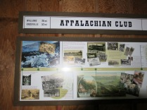 historical information inside the Appalachian Club