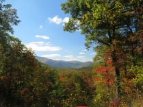 view from Roaring Fork Motor Trail