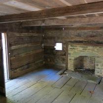 inside Bales' Cabin