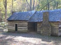 Bales Cabin - 2 room dog-trot cabin