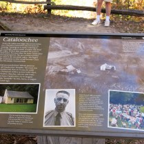 Cataloochee info sign