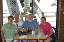 Crowells and Ritgers at Conch Restaurant