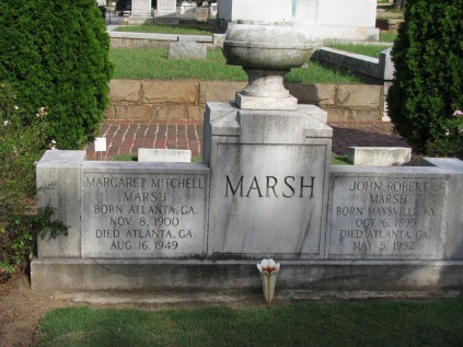 Margaret Mitcell's grave