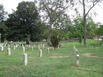 Confederate soldier gravestones in Oakland Cemetery